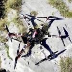 Riprese aeree con drone alla Grotta Noè