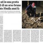 Aggiornamento sulle ossa rinvenute all'interno della Grotta degli Sprovveduti (Monte Cavallo di Pontebba)