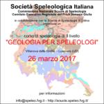 Geologia per Speleologi - corso SSI di IIº livello