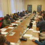 Sara Vito (Assessore regionale Ambiente ed Energia) al Tavolo dedicato alla Speleologia - Trieste 04/2017