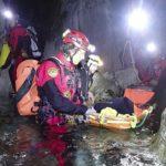 Soccorso: tre giorni nelle grotte del Carso triestino