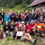 Foto di gruppo con un saluto all'amico Giovanni Badino