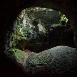 Grotta Noè - risalita su corda (foto di Domagoj Korais)