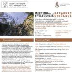 MEETING PER LA SPELEOLOGIA: ad un anno della Legge Regionale 15/2016
