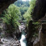 Dopo circa 40 chilometri di percorso superficiale, il Fiume Reka inizia il misterioso tragitto sotterraneo, scomparendo nelle grotte di Škocjan-San Canziano. Ed è da qui che parte la ricerca... (foto: Claudio Bratos)
