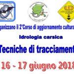2º Corso di Idrologia carsica - Tecniche di tracciamento