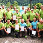 Partecipant ial Corso Nazionale CAI di Arranpicata per speleologi