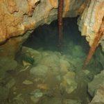 In una grotta di Comarie l'acqua del lago di Doberdò