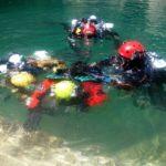 Importante esercitazione internazionale speleosubacquea alle Sorgenti del Gorgazzo - Polcenigo (PN)