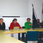 La Commissione d'esame del corso per guide speleologiche