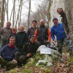 Gli speleologi del CAI Pordenone in azione a rimedio dei danni provocati dalla tempesta Vaia ad Andreis