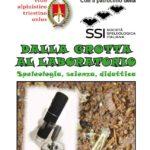 Corso di speleologia CAT: Dalla grotta al laboratorio