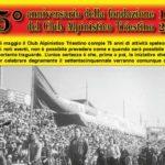 75º anniversario della fondazione del Club Alpinistico Triestino