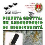 Corso II livello CAT - Pianeta Grotta: un laboratorio di biodiversità